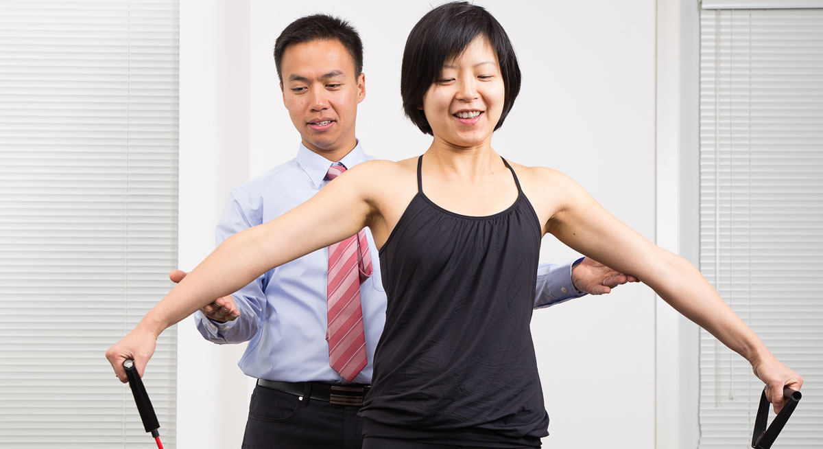 exercise therapy Burnaby