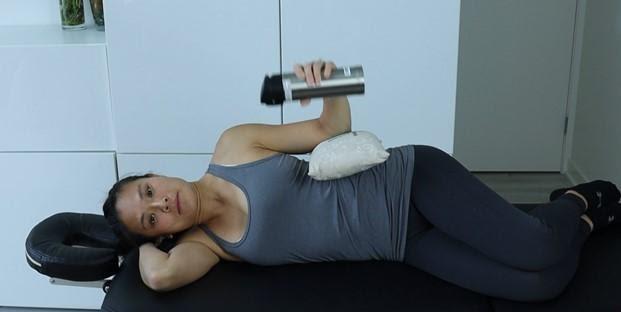Sidelying Shoulder External Rotation